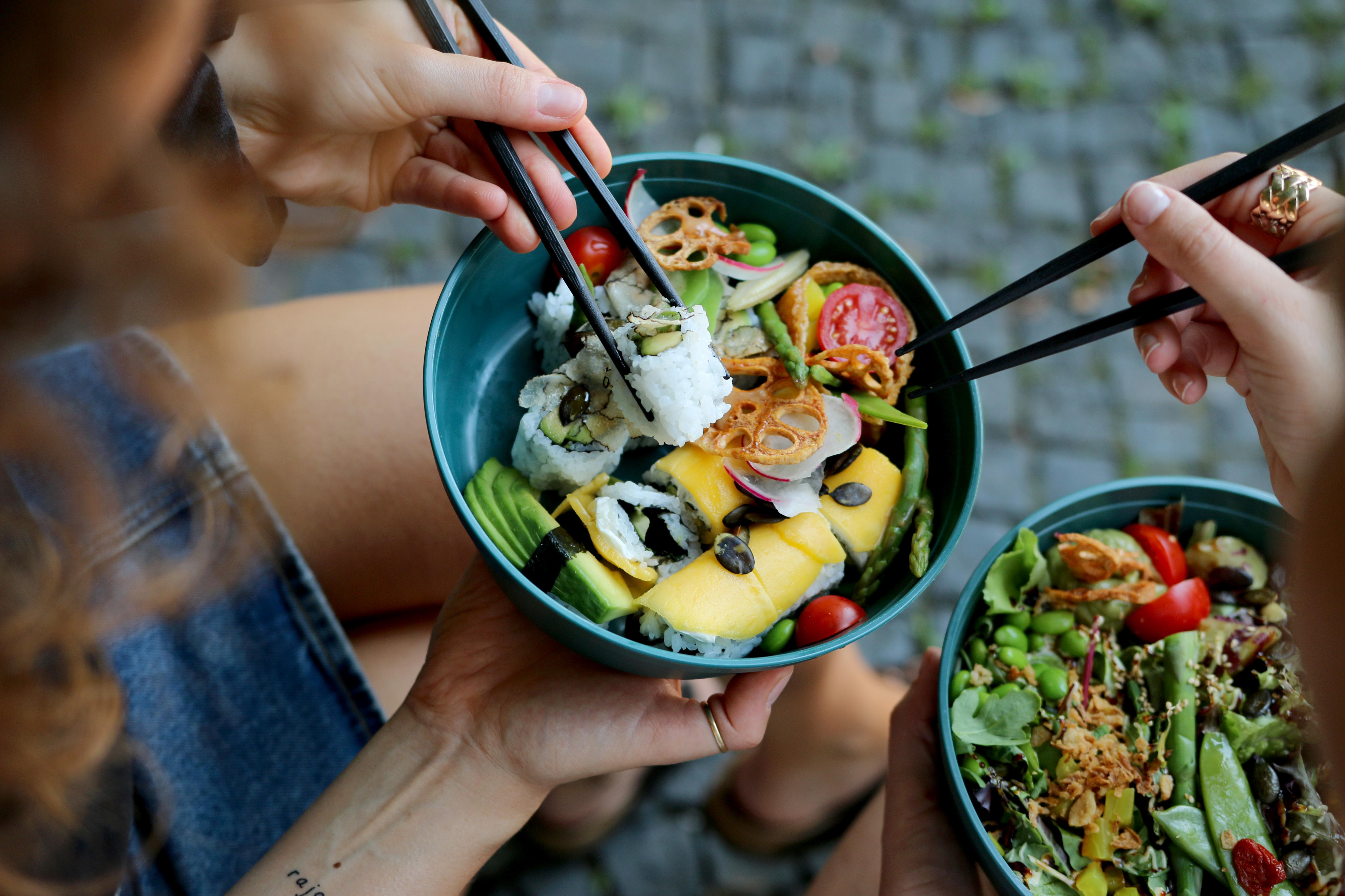 REBOWL Mehrwegschale Sushi